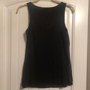 Express Tops - Express Women's Black Sequins Tank Top